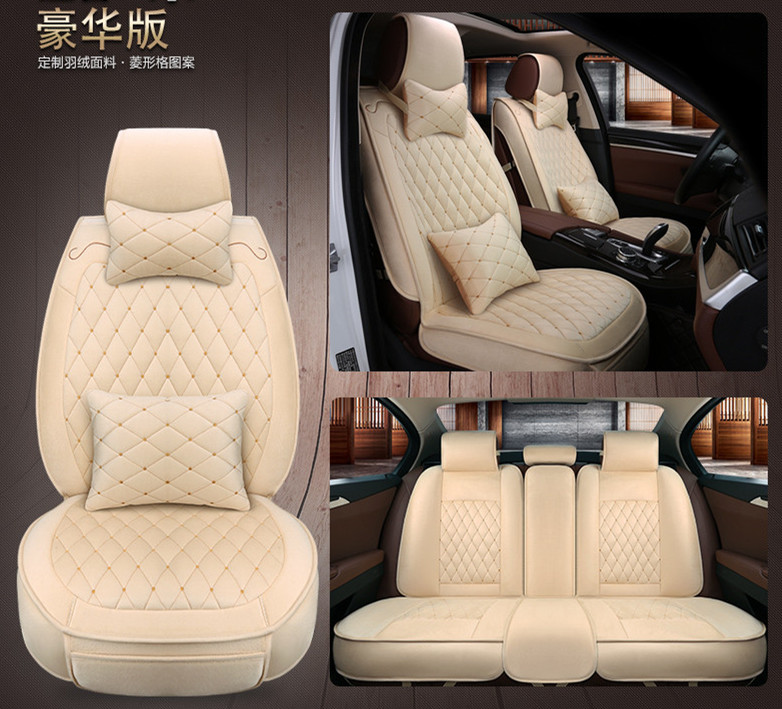 Car Seat Covers car-styling Cushions pad,auto seat cushions For Toyota Camry 40 RAV4 Verso FJ Land Cruiser LC 200