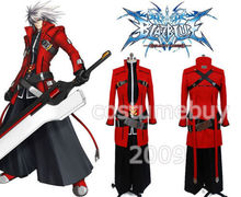 BlazBlue: Calamity Trigger Ragna the Bloodedge Jacket Coat Pants for men Game Anime Halloween Cosplay Costume Free Shipping