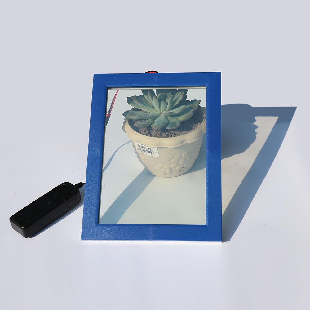 Électrique PDLC Film Film de Verre Intelligent Porte Fenêtre Teinte Intelligent Commutable Film Opaque Blanc pour Effacer 15 cm x 15 cm