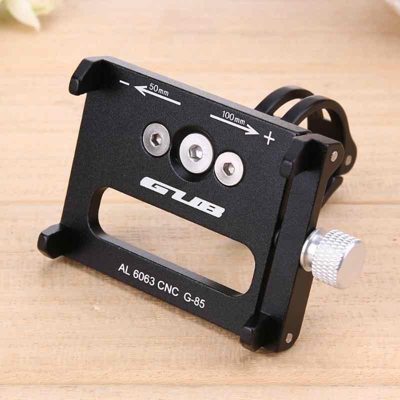 4 вида цветов велосипед держатель GUB G85/G-85 Алюминий MTB металла с антискользящим покрытием с ручкой для мобильного телефона с креплением на руль
