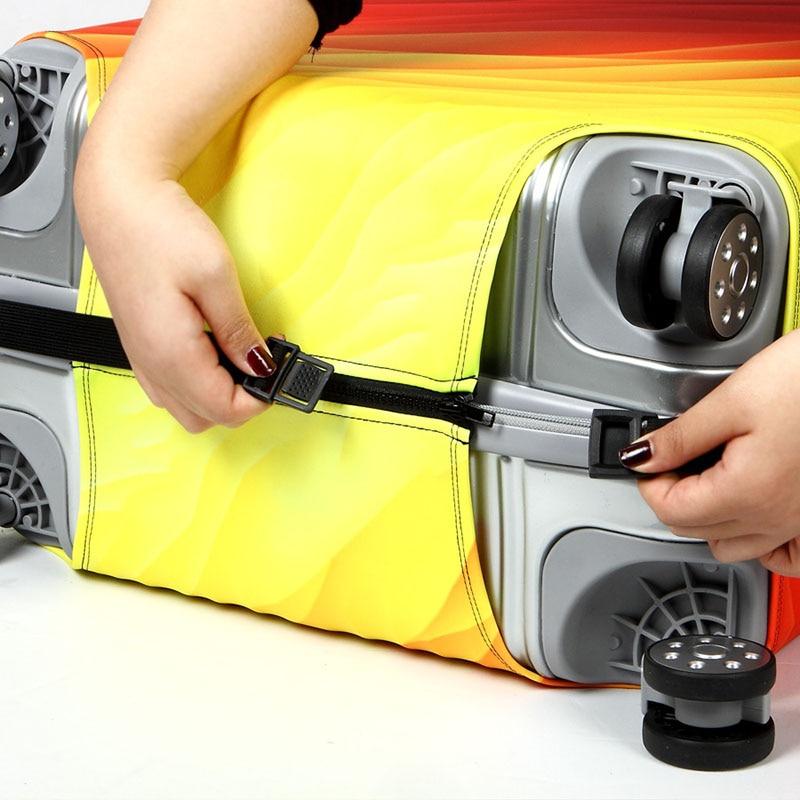 Thickening elastic cloth suitcase 4
