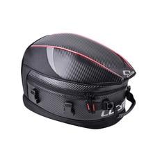 CUCYMA Motorcycle Seat Bag Motorcycle Tail Tank Bag Back Seat Luggage Bags Saddlebag Motorcycle Riding Travel Handbags Luggage цена