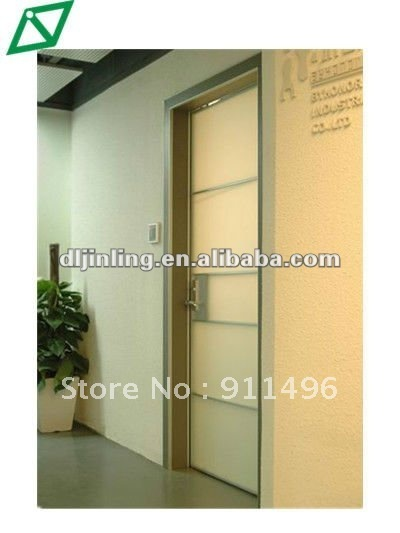 Buy commercial double swing door tempered glass door with aluminum alloy frame - Commercial double swing doors ...