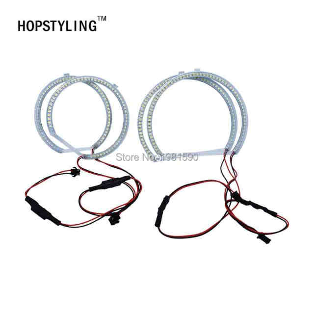 Online Shop Hopstyling 1 Set Smd 3528 Halo Ring Angel Eyes For Bmw