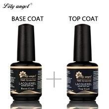 638304d1c3a Лилия Ангел Профессиональный 15 мл gelpolish nail base coat top coat  выдерживает с гель-лак