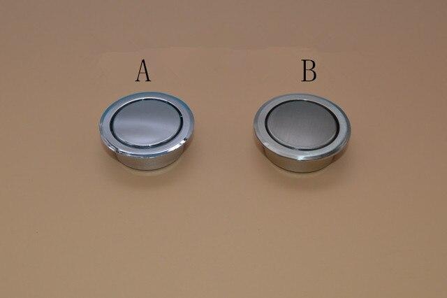 10Pcs Tatami Door Knobs Furniture Hidden Recessed Flush Pull Cabinet Brush  And Bright Chrome Dark Handles