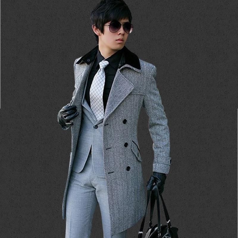 Online Get Cheap Grey Wool Pea Coat -Aliexpress.com | Alibaba Group