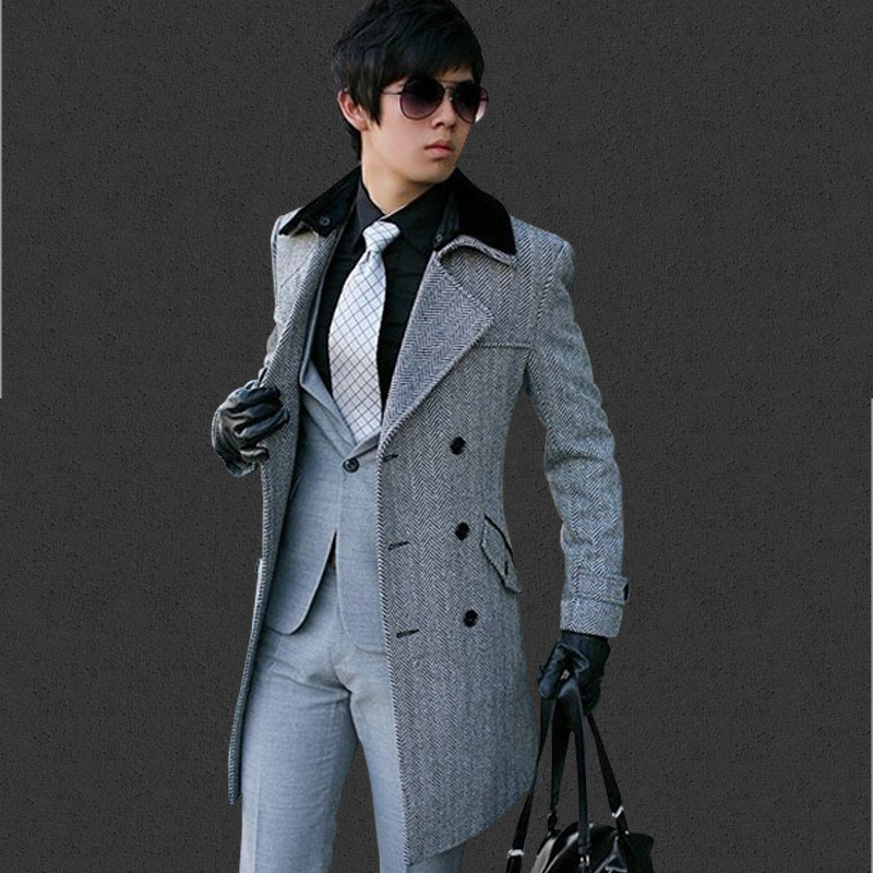 Popular Long Men Overcoat-Buy Cheap Long Men Overcoat lots from ...