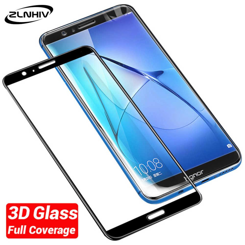 ZLNHIV 3D szkło hartowane dla huawei honor 8 pro lite folia ochronna honor 7 7x7 s 7c 7a ochraniacz ekranu telefonu z ekranem dotykowym szkło smartfon