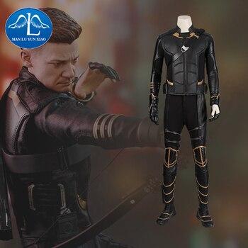 Avengers Endgame Clinton Barton Hawkeye Cosplay Costume Avengers Nuovo Occhio di Falco Ronin Costume Cosplay Outfit Custom Made