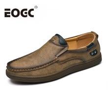02973ece2 Бренд спилок кожаные туфли классические модные мужские повседневные туфли  весна дышащие мужские мокасины осенние мужские туфли
