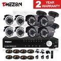 Tmezon 8ch ahd dvr 8 pcs 2.0mp 1080 p câmera de segurança de vigilância Sistema de CFTV Impermeável Ao Ar Livre Visão Nocturna do IR 1 TB 2 TB HD Kit