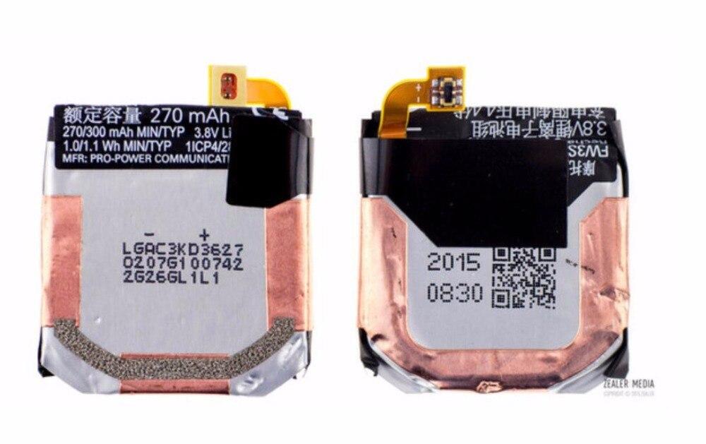 Easylander Remplacement 3.7 V 270 mAh Smart Montre Batterie Pour batterie Pour moto 360 2e FW3S SNN5971A