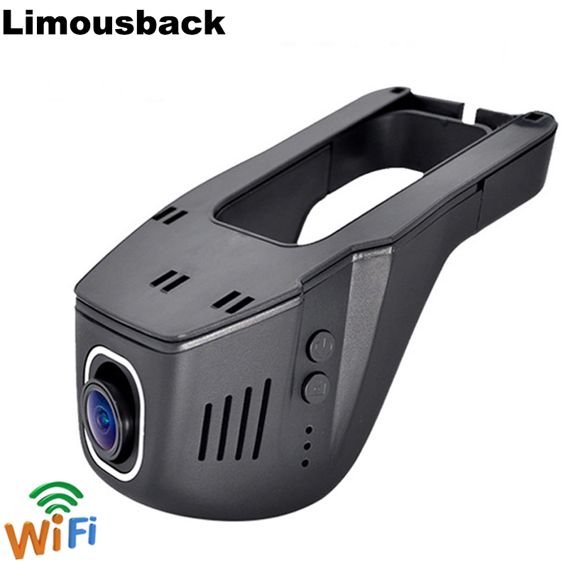 Limousback Car Dvr Dash Cam WIFI DVRs Camera Auto Registrator FHD 1080P Digital Video Recorder Camcorder Night Version Dashcam in DVR Dash Camera from Automobiles Motorcycles