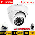Mini ip Camera 1280*720 HD Microphone Audio Output Security indoor demo Night Vision Ir Cut cctv 720P  indoor P2P surveillance
