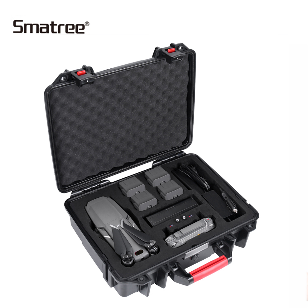 Smatree Storage Bag Suitcase Hardshell Case for DJI Mavic 2 Pro/DJI Mavic 2 Zoom,Waterproof Carrying BoxSmatree Storage Bag Suitcase Hardshell Case for DJI Mavic 2 Pro/DJI Mavic 2 Zoom,Waterproof Carrying Box