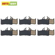 Autoway 6 Pairs Bicycle Disc Brake Pads For Shimano Deore XT,Cleg DH/Grimeca 8/16 SRAM/Hope/Mono 4/5.spring inc.