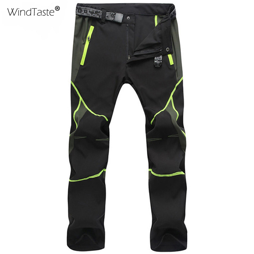 WindTaste Men Women Hiking Pants Summer Quick Dry Breathable Pant Waterproof Outdoor Trekking Male Female Elastic Trousers KA036