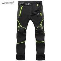 WindTaste мужские и женские Походные штаны летние быстросохнущие дышащие штаны водонепроницаемые походные мужские и женские эластичные брюки ...