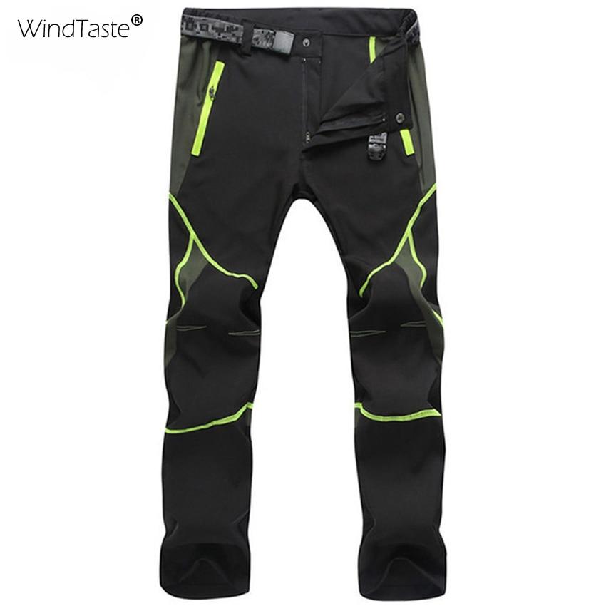 WindTaste Men Women Hiking Pants Summer Quick Dry Breathable Pant Waterproof Outdoor Trekking Male Female Elastic Trousers KA036