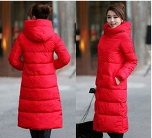 10 Colors High Quality Autumn Winter Design Women s Cotton Slim Zipper Coat Hooded Jackets Coats