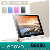 Luxury Design Stand Leather Case Smart Cover Case For Lenovo Yoga 10 HD B8080 B8080 F