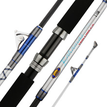 2018 New 2.1 M Boat Fishing Rod Casting Lure Rod Sea Full-sheave Guide EVA Handle Line Weight 50LBS