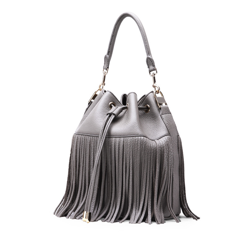 Femmes New 033018 Main Hot Black gray Seau À Sac Femelle Gland qBEnA7E