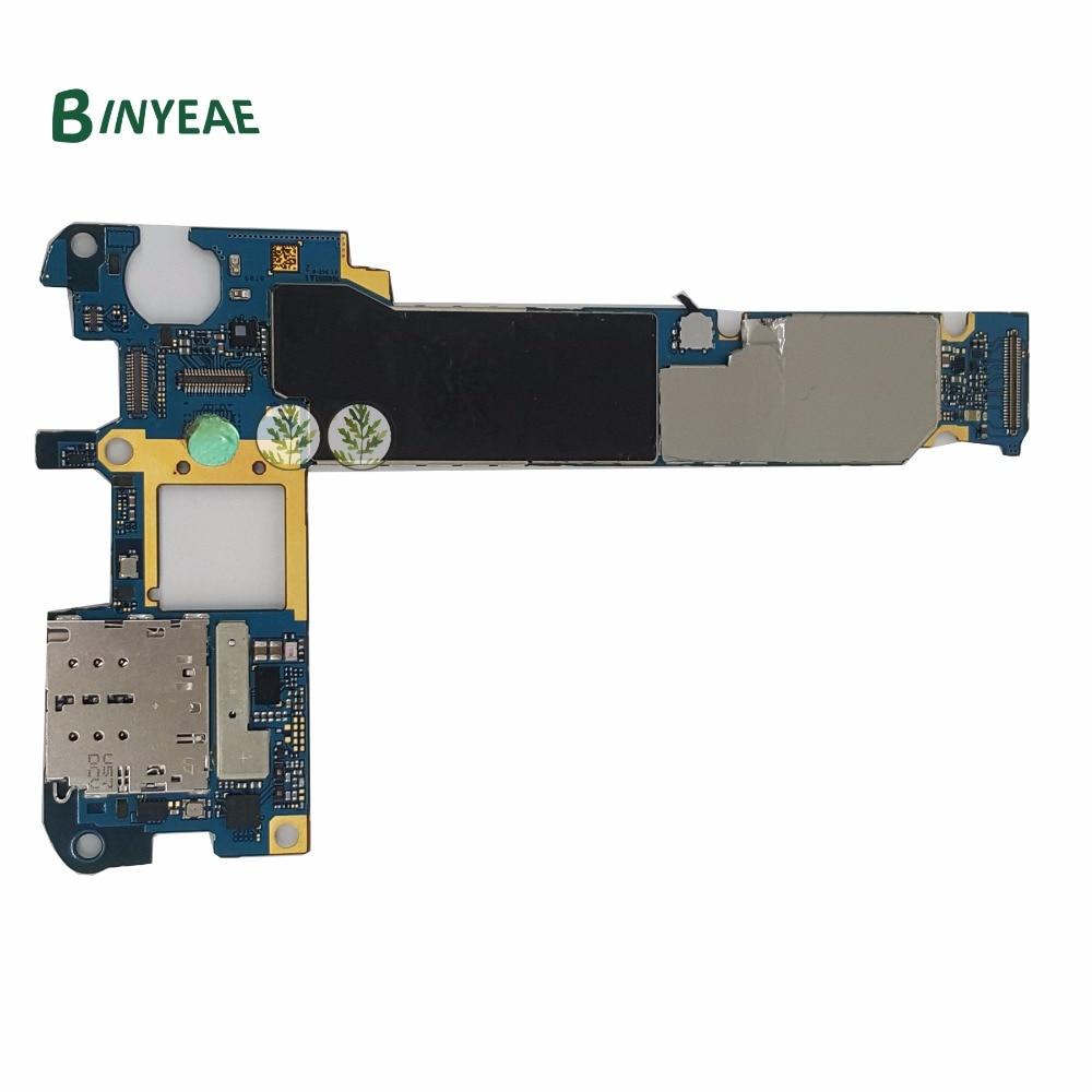 BINYEAE Original 64GB N920W8 Unlocked Main Motherboard Clean Imei Testing Good Replacement For Samsung Galaxy Note 5 N920W8