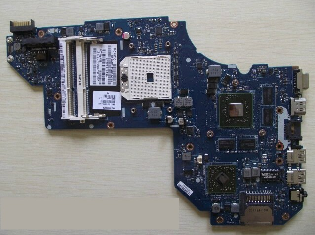 HOLYTIME laptop Motherboard for hp M6 M6-1000 687229-001 notebook mainboard <font><b>LA</b></font>-<font><b>8712P</b></font> A70M HD7670M/2G 100% tested image
