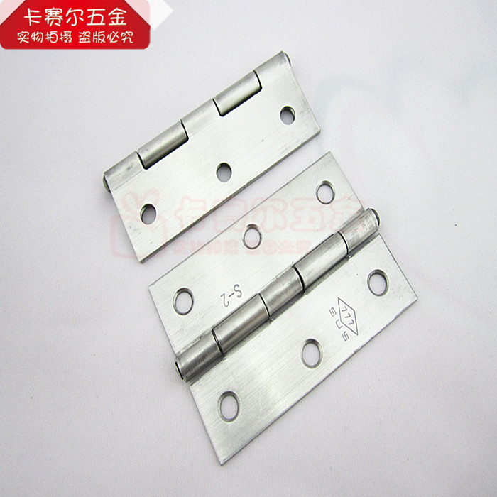 2pcs Stainless steel cupboard wardrobe door hinge thick stainless steel box hinge hinge mechanical equipment 3 inch-in Door Hinges from Home Improvement on ...  sc 1 st  AliExpress.com & 2pcs Stainless steel cupboard wardrobe door hinge thick stainless ...