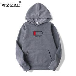 WZZAE 2018 Low Help Me Hoodies Men 3D Creative Hooded Sweatshirts Fashion Streetwear Hip Hop Black Hoodie Male Plus Size S-XXL 5