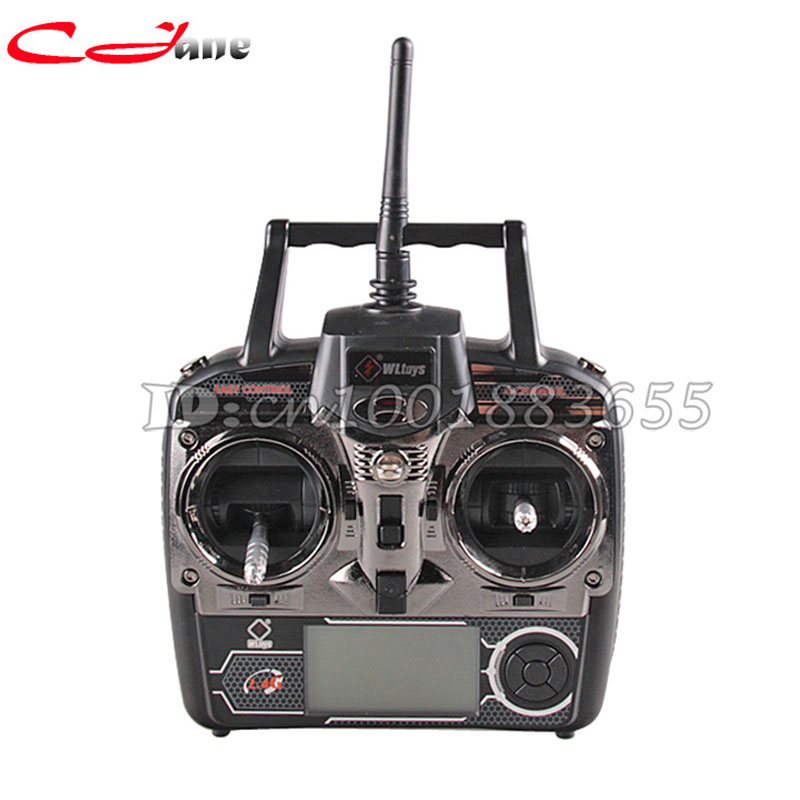 Free shipping WL V912 spare parts 4Ch Transmitter/ Controller Set Parts For WLToys V911 V912 V929 V939 V949 RC Helicopter 18650 wl toys 6ch rc helicopter wl xk k110 k123 k124 x350 remote control transmitter spare parts backup parts