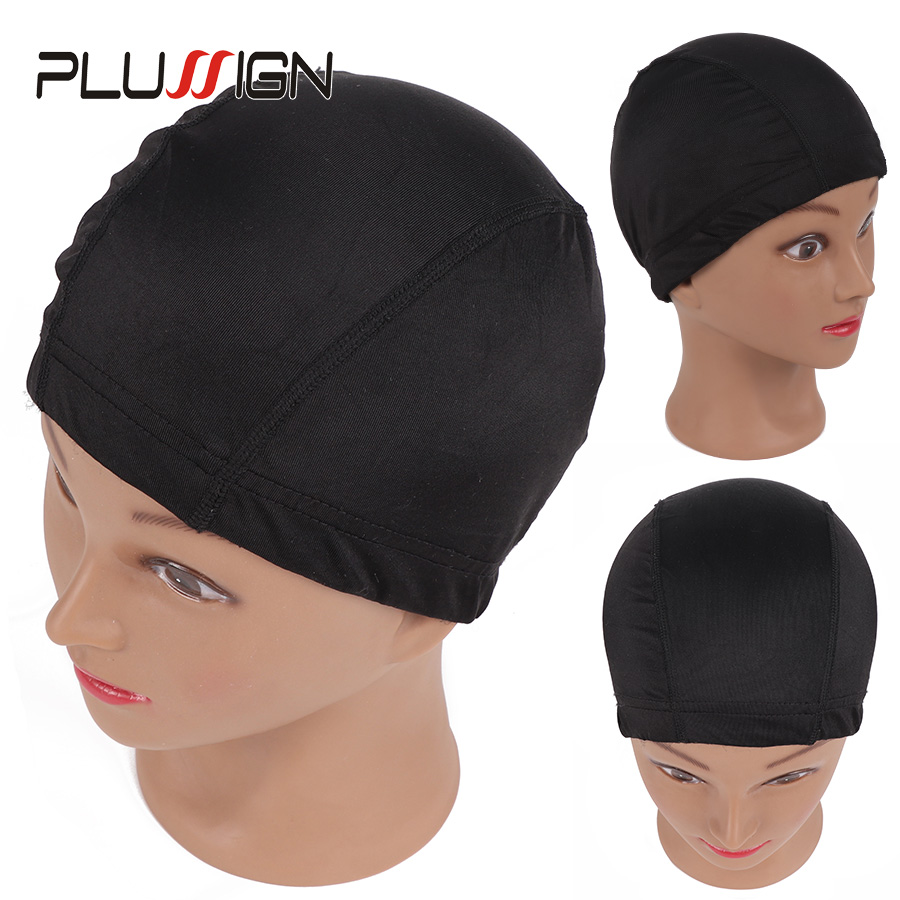 Hairnets 6pcs Glueless Hair Net Wig Liner Cheap Wig Caps For Making Wigs Spandex Net Elastic Dome Wig Cap Tools & Accessories