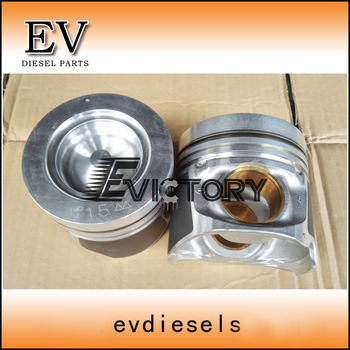 For Hino bus truck  N04C N04CT piston include piston pin and clip with bushing
