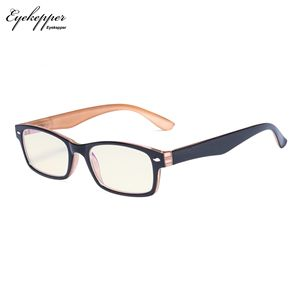 Image 2 - CG055 SpringHinges UV Protection, Anti Glare Anti Blue Rays,Scratch Resistant Lens Yellow Tinted Lenses Computer Reading Glasses