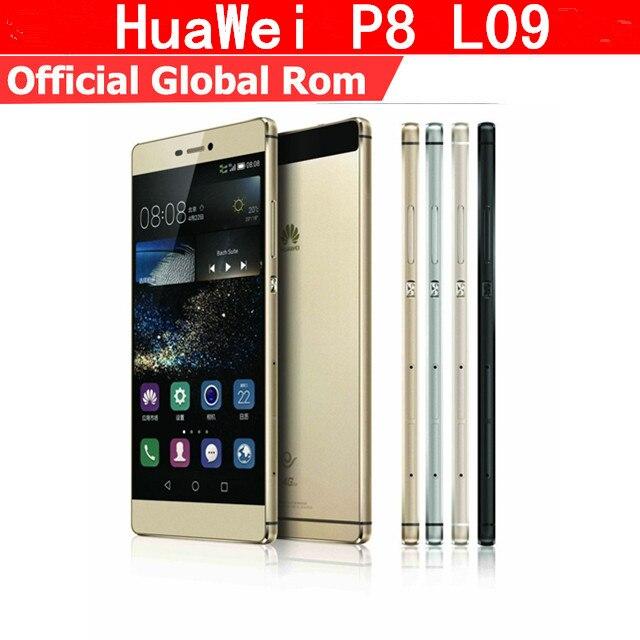 "Глобальная версия HuaWei P8 L09 4G LTE сотовый телефон Kirin 930 Octa Core Android 5,0 5,2 ""FHD 1920X1080 3 ГБ Оперативная память 16 ГБ Встроенная память 13.0MP NFC"
