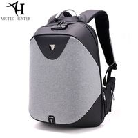 ARCTIC HUNTER School Backpack 15 6 Laptop Backpacks Men Waterproof Mochila Casual Business Travel Anti Theft