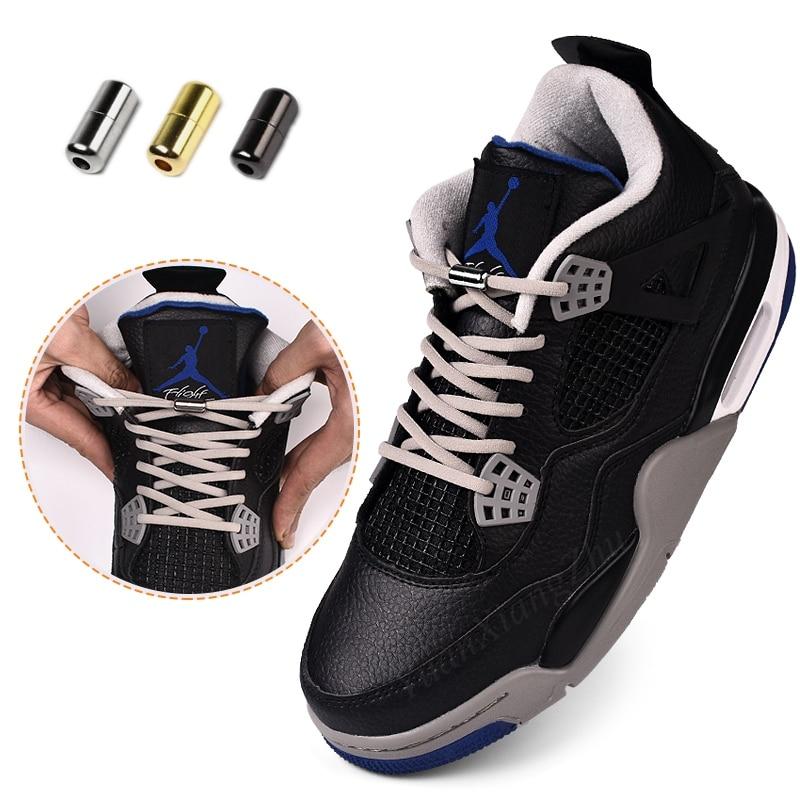 1Pair No Tie Shoelaces 1second Quick Elastic Locking Shoe Laces Sneakers Canvas Shoelace Women Men Children's Shoes Laces