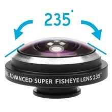 Orbmart clip universal рыбий линзы apple градусов plus мобильный глаз камеры
