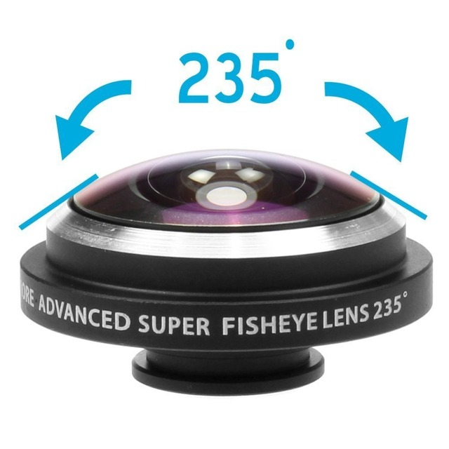 Obiektyw fish eye iPhone i inne