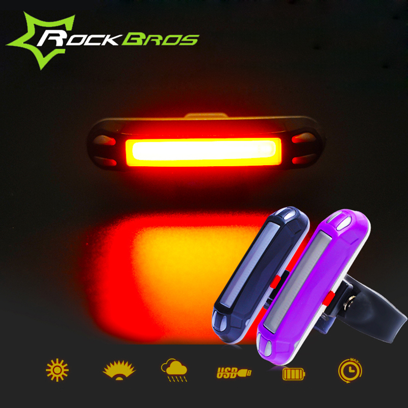 ROCKBROS Waterproof Bike Bicycle Light 30 LED Cycling Taillight Bicicleta Tail Light Safe Warning Light Lamp