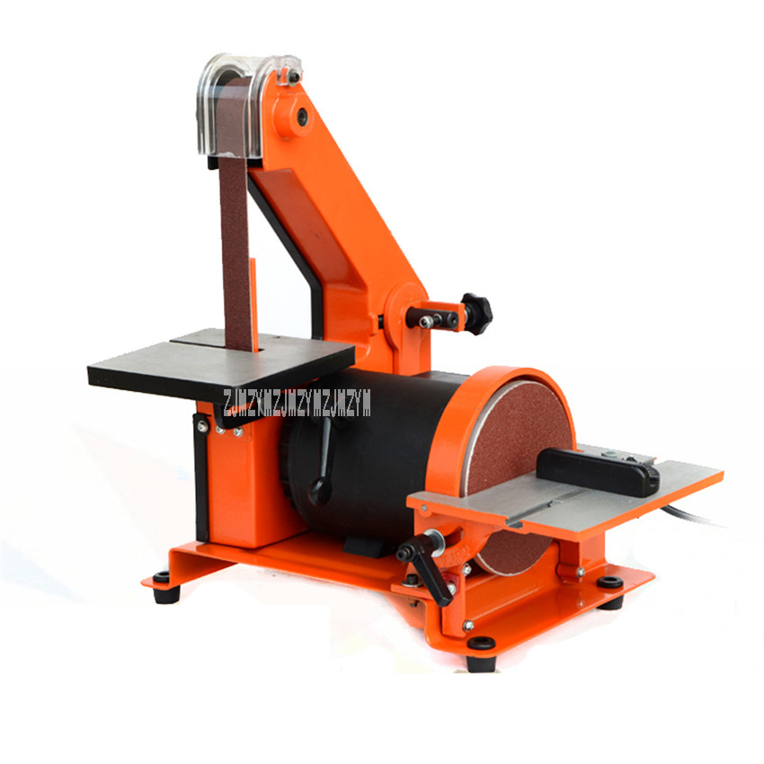 New High Quality 762 Sand Belt Machine Polishing Machine Desktop Woodworking Grinding Machine 350W 220v / 50HZ 2950Rpm 13.5m / S