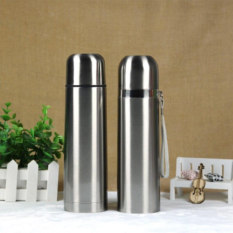 500 ml garrafa de água térmica caneca copo garrafa térmica esportes ao ar livre drinkware garrafa térmica frete grátis