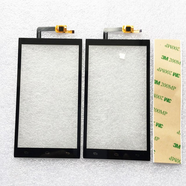 5.0 inch Black Touch Panel For Micromax Canvas Juice 2 AQ5001 Touch Screen Front Glass Sensor Digitizer Touchscreen Free Shippin