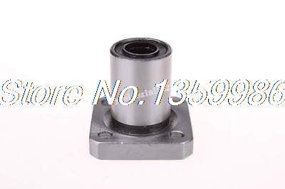 10 pièces 8mm Diamètre Intérieur Carré Roulement Linéaire À Bride LM8
