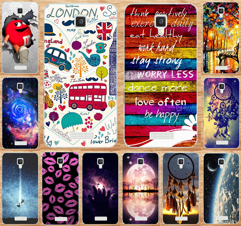 Case For Fundas Lenovo A1000 A 1000 Phone Cover Sweet Home Happy London Red Lip Painting Cases Hard PC Protector Shell Hood Capa