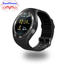 Y1 SmartWatch Phone 1.2 inch Touch Screen Camera Bluetooth MP3 SIM Card TF Card Children Cartoon Fashion Sport Cheap Cell Phone(China)