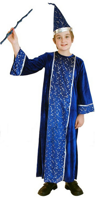 free shipping leaves blue silver wizard the pattern wizard s