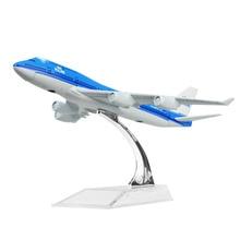 Holland Dutch Royal Boeing 747 16cm Alloy airplane models child Birthday gift chiristmas gift plane models